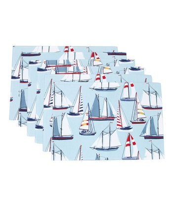 Sailing Place Mat - Set of Six
