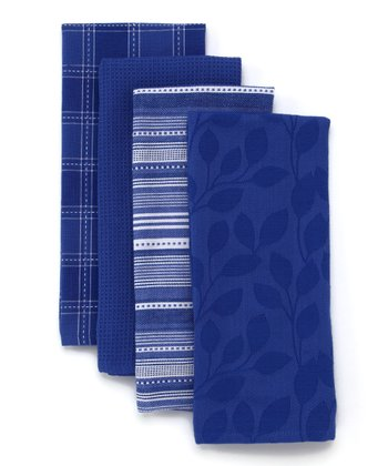 Blueberry Dish Towel Set