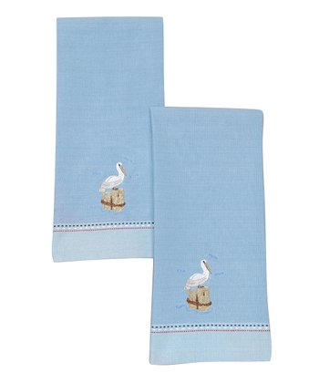 Pelican Dish Towel - Set of Two