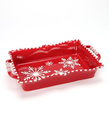 Design Imports Snowflake Baker