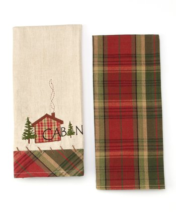 Cabin Fever Dish Towel Set