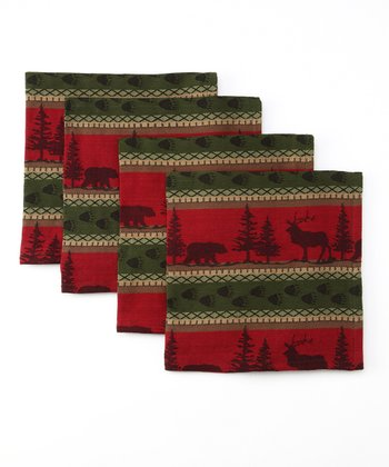 Great Outdoors Napkin - Set of Four