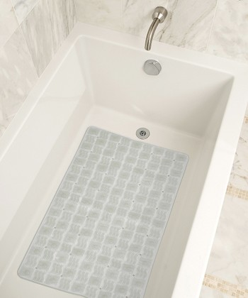 Clear Tiled Bath Mat