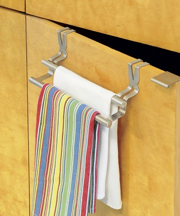 Over-Cabinet Double Towel Rod