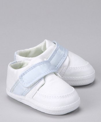 White & Blue Jacob Shoe