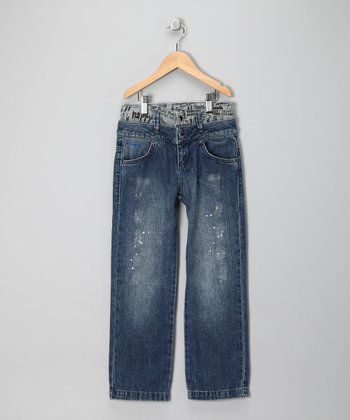 Cain Hibiscus Jeans - Toddler & Boys