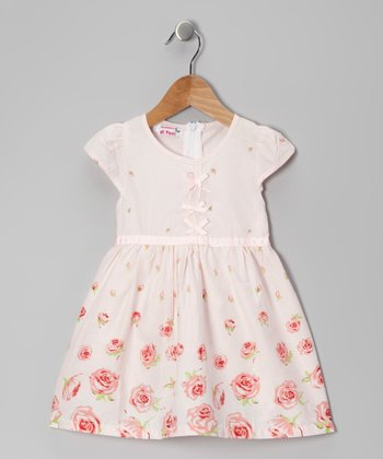 Pink Rose Dress - Toddler & Girls