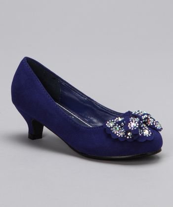 Blue Candy-1 Kitten Heel