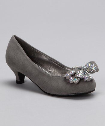 Gray Candy 1 Kitten Heel