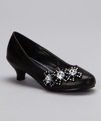 Black Candy 32 Kitten Heel