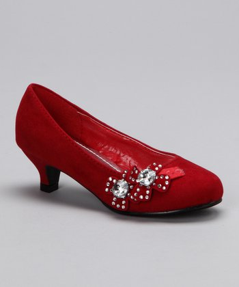Red Candy 32 Kitten Heel