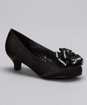 Black Candy Kitten Heel