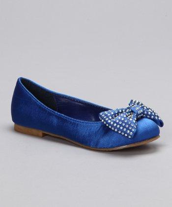 Blue Candy Ballet Flat