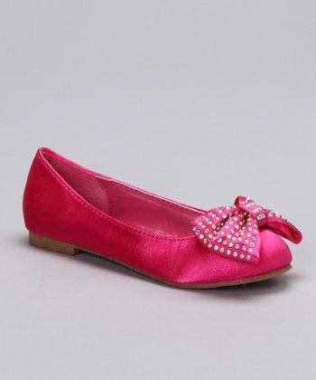 Fuchsia Candy Ballet Flat