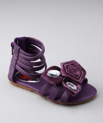 Purple Rose Katie Sandal