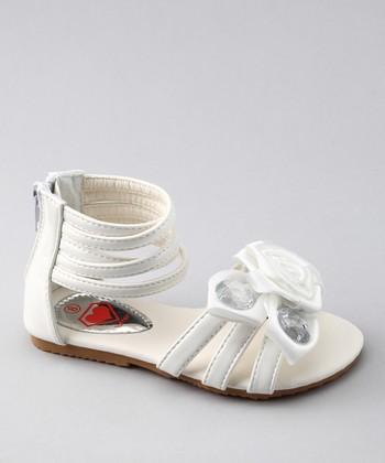 White Katie 25 Sandal