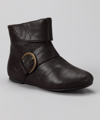 Brown Love Ankle Boot