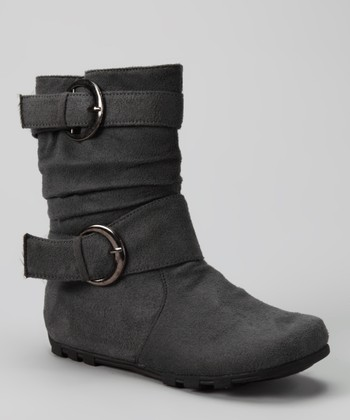 Gray Love 66 Boot