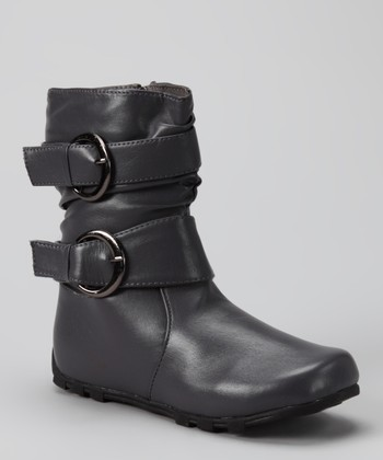 Gray Love-7 Boot