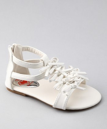 White Lydia 22 Sandal