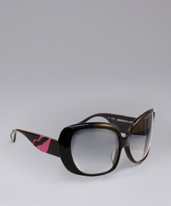 Black & Pink Sunglasses