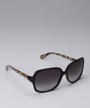 Black Graffiti Sunglasses