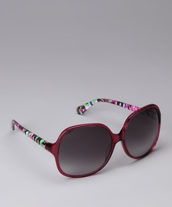 Beet Graffiti Sunglasses