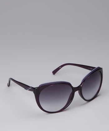 Amethyst Cat-Eye Sunglasses