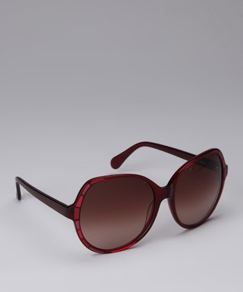 Ruby Butterfly Sunglasses