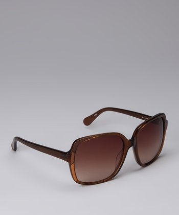 Brown & Tan Mosaic Sunglasses