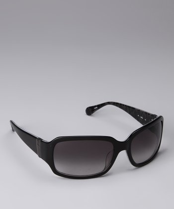 Black Cheetah Sunglasses