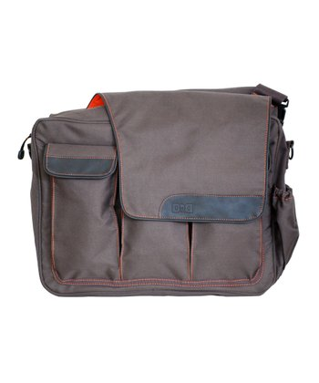 Brown Messenger II Diaper Bag