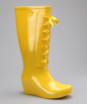 Yellow Raincheck Rain Boot
