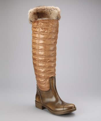 Brown Regalia Rain Boot