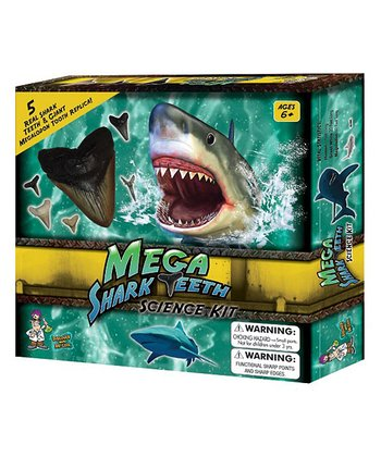 Mega Shark Teeth Science Kit