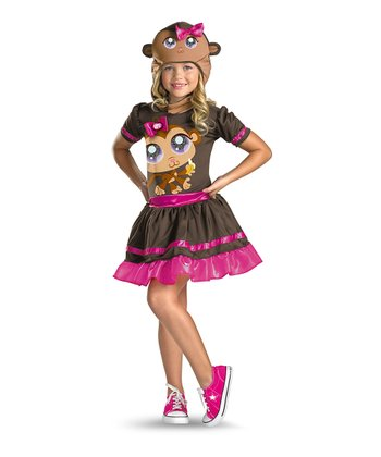 Monkey Littlest Pet Shop Dress-Up Set - Girls