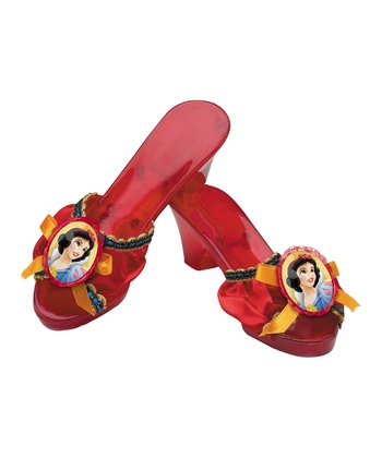 Red Snow White Shoes