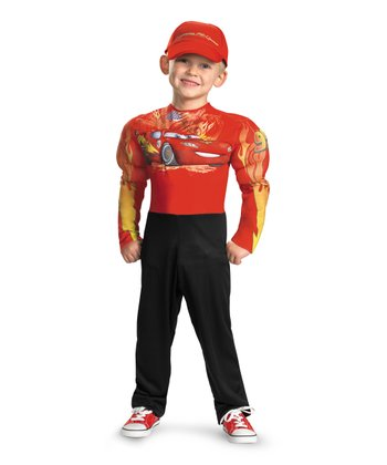 Red Lightning McQueen Muscle Dress-Up Set - Toddler & Boys