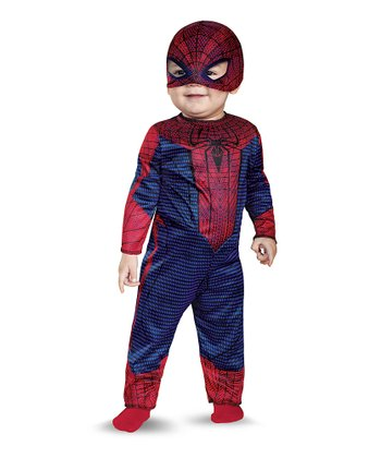 Red & Blue Spider-Man Dress-Up Set - Infant