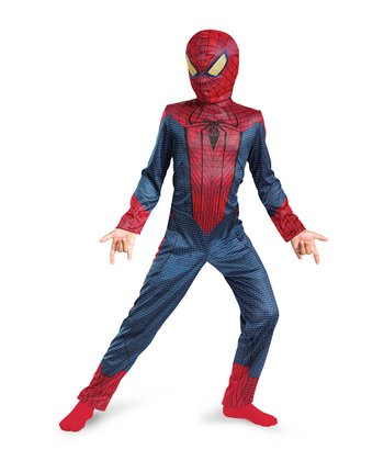 Red & Blue Spider-Man Dress-Up Set - Toddler & Kids
