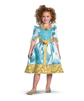 Aqua Merida Classic Dress - Toddler & Girls