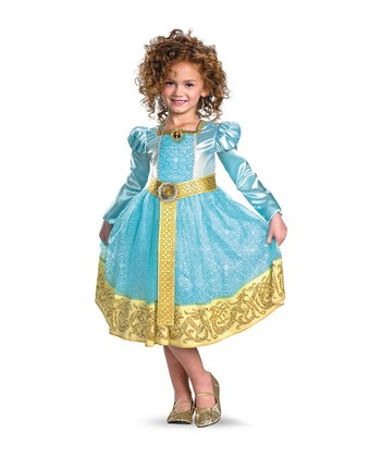Aqua Merida Dress-Up Set - Toddler & Girls
