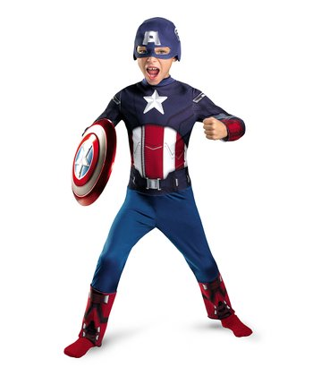 Captain America Dress-Up Set - Boys