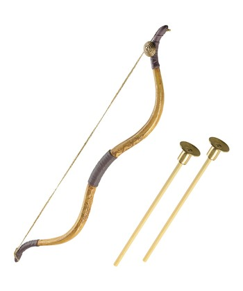 Gold Brace Bow & Arrow Set