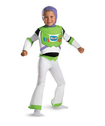 White Deluxe Buzz Lightyear Dress-Up Set - Toddler & Kids