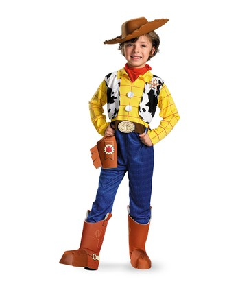 Yellow & Blue Woody Dress-Up Set - Kids
