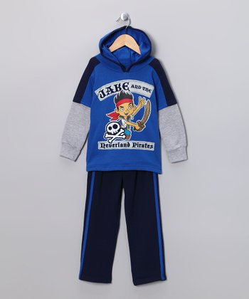 Blue 'Jake' Hoodie & Pants - Toddler