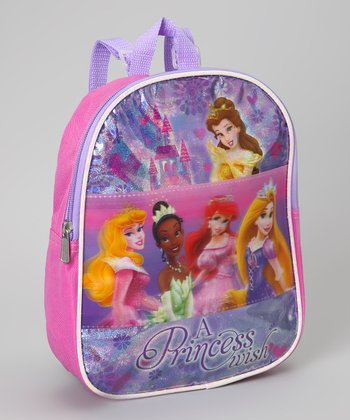 Pink & Purple 'Princess Wish' Lenticular Backpack