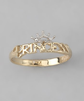 10k Gold 'Princess' Ring