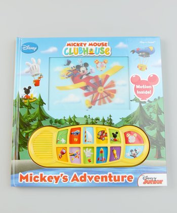 Mickey's Adventure Songbook Hardcover